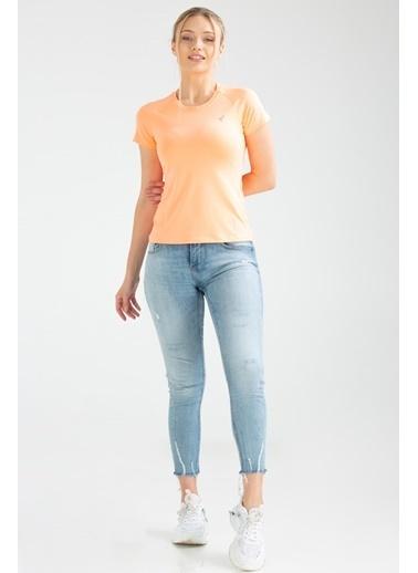 Speedlife Bead Kadın Tişört Renkli